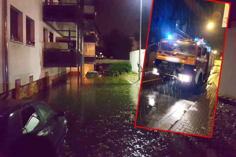 Unwetter wüten über Hessen: Zahlreiche Schäden, Feuerwehr im Dauereinsatz