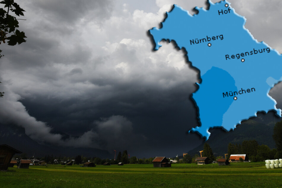 """Schluss mit Sommer: Gewitter und Hagel mit """"Unwetterpotenzial"""""""