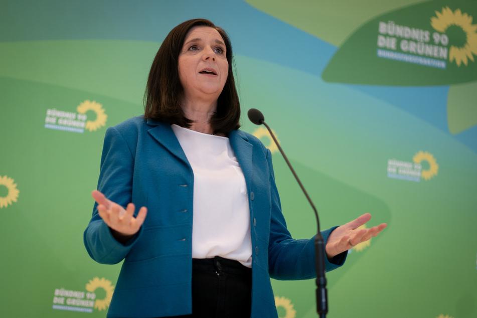 Katrin Göring-Eckardt ist die Fraktionsvorsitzende von Bündnis 90/Die Grünen.
