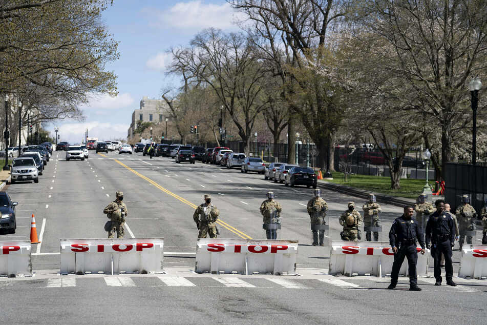 The Capitol was put into lockdown as the situation unfolded.