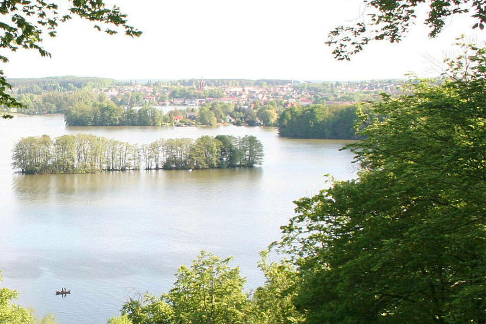 Ein Blick auf den Feldberger Haussee. Am Freitagabend ist ein 60-jähriger Mann nach einem Badeunfall in dem Gewässer ums Leben gekommen. (Archivfoto)