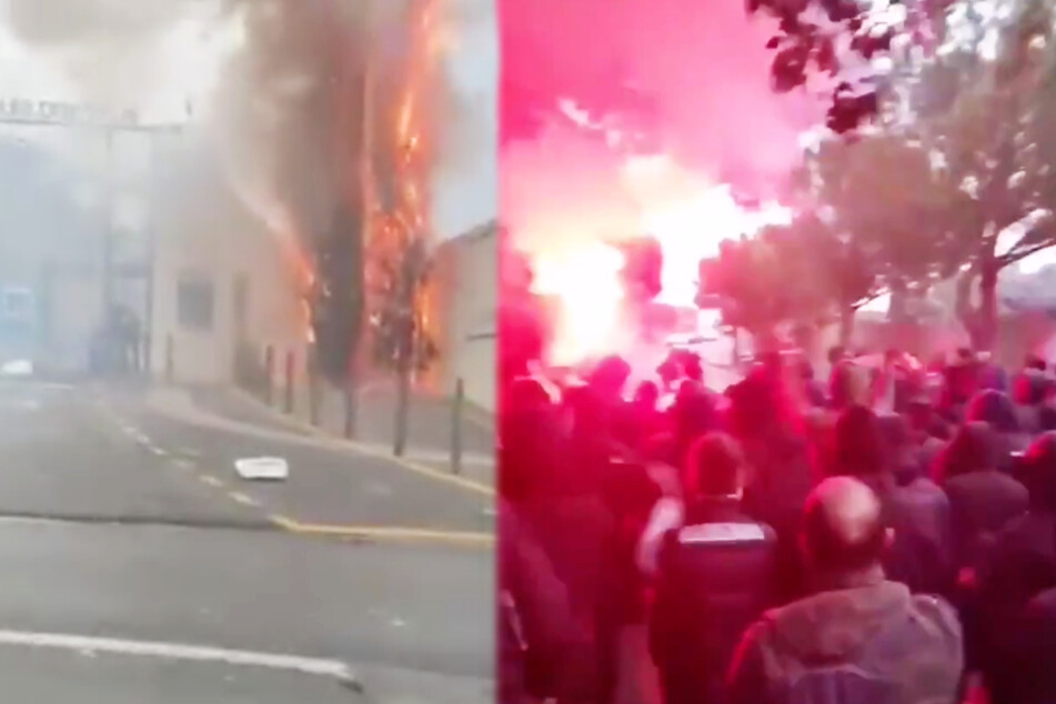 """""""Fans"""" sorgen für Mega-Eklat, stürmen Trainingszentrum ihres Vereins und attackieren Spieler!"""