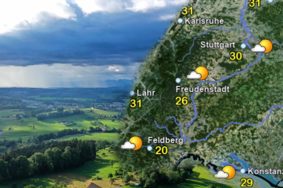 Wochenend-Wetter in Baden-Württemberg: Gewitter sind mit im Paket
