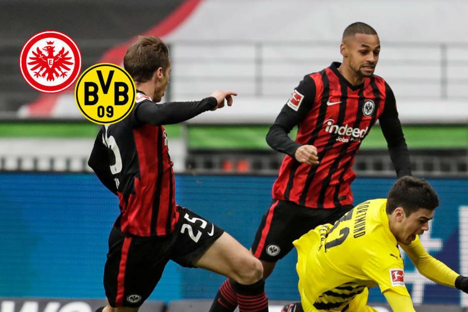 Wieder Führung verspielt: Eintracht kann mit Punkt gegen BVB dennoch gut leben