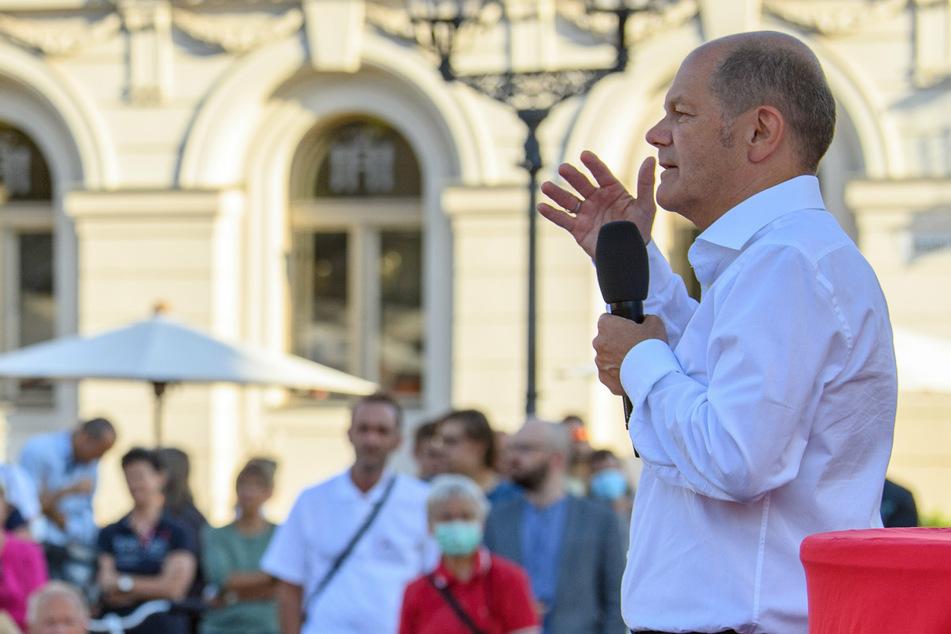 """Olaf Scholz mahnt: """"Der Klimawandel ist menschengemacht"""""""