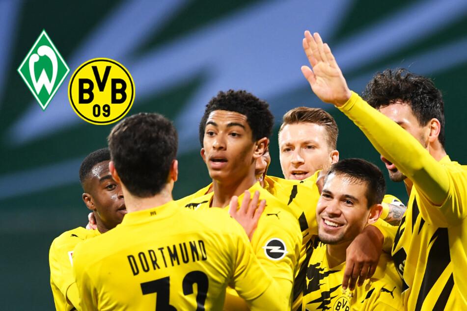 Reus schießt den BVB nach Chancenwucher zum Auswärtssieg in Bremen!