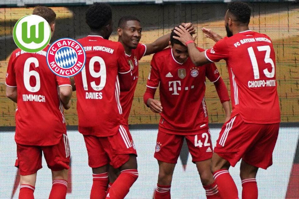 Fünf-Tore-Spektakel! FC Bayern geht in Wolfsburg großen Schritt Richtung Meisterschaft