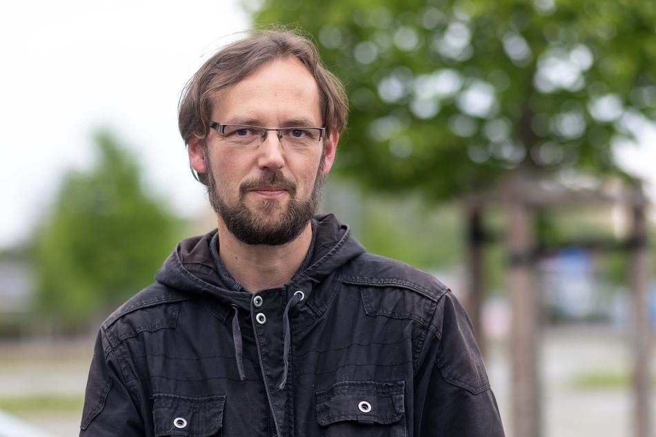 Fordert mehr Sozialarbeiter: Tim Detzner (42, Linke).