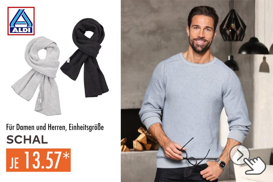 Schals für Damen und Herren in verschiedenen Farbvarianten für 13,57 Euro