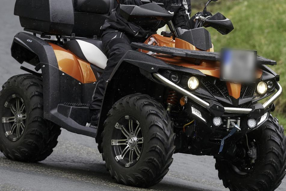 Nach dem Unfall kämpft der Quad-Fahrer ums Überleben. (Symbolbild)