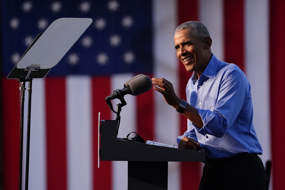 Barack Obama, ehemaliger Präsident der USA.