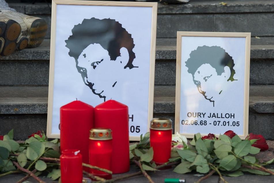 Jedes Jahr wird in mehreren Städten an den Feuertod von Oury Jalloh erinnert. (Archivbild)
