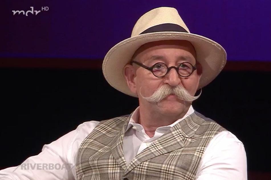 """""""Bares für Rares""""-Star Horst Lichter (59) war am Freitagabend zu Gast im Riverboat."""