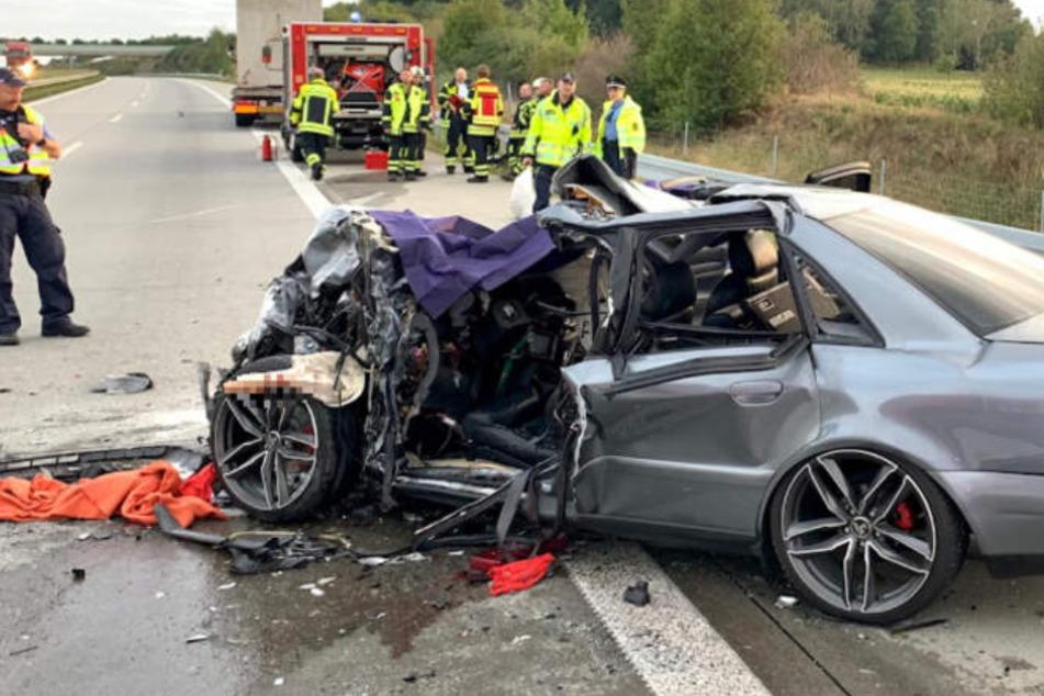 Polizei sucht nach tragischem Unfalltod auf der A17 nach Zeugen
