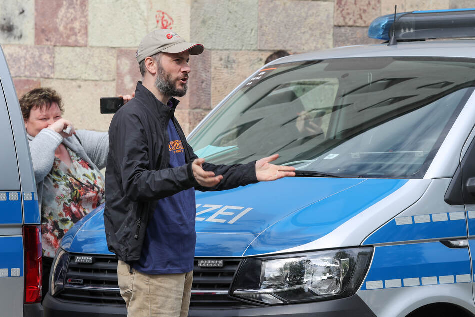 """Martin Kohlmann (43), Sprecher der rechtspopulistischen Bewegung """"Pro Chemnitz""""."""