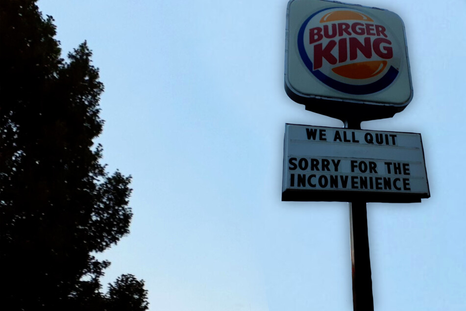 """""""Sorry for the inconvenience"""": Entire Nebraska Burger King staff spectacularly quits!"""