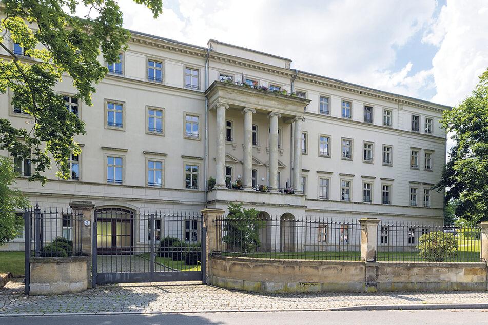 Im Schloss sind heute Wohnungen untergebracht.