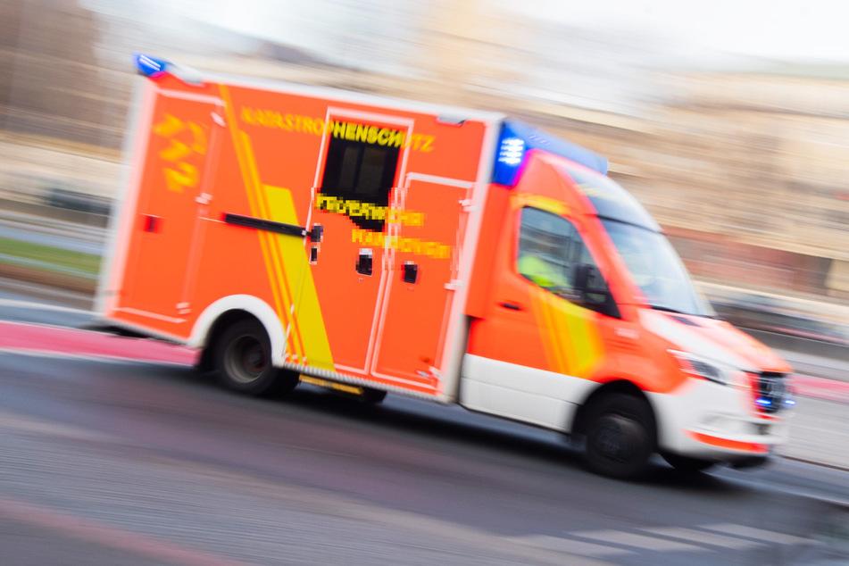 Einbruch geht schief: Mann stürzt fast zehn Meter in die Tiefe