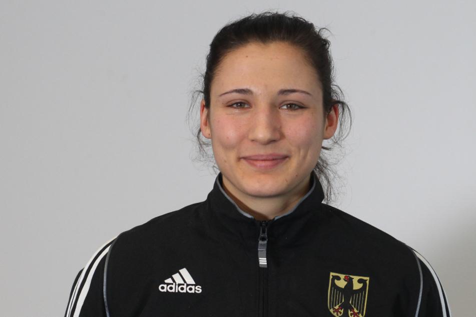 Sarah Scheurich (27) boxt in der deutschen Nationalmannschaft. (Archivbild)