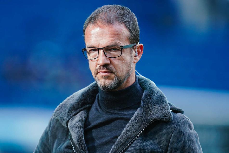 Blickt Fredi Bobic (49) nach seinem Abgang bei Eintracht Frankfurt in eine blau-weiße Zukunft?