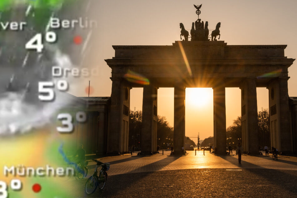Wetter in Berlin: Schnee zum März-Abschied?