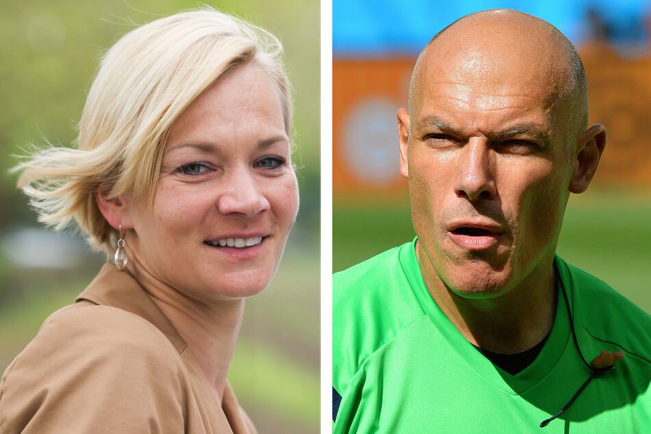 Seit vier Jahren ein Paar: Bibiana Steinhaus und Howard Webb (48).