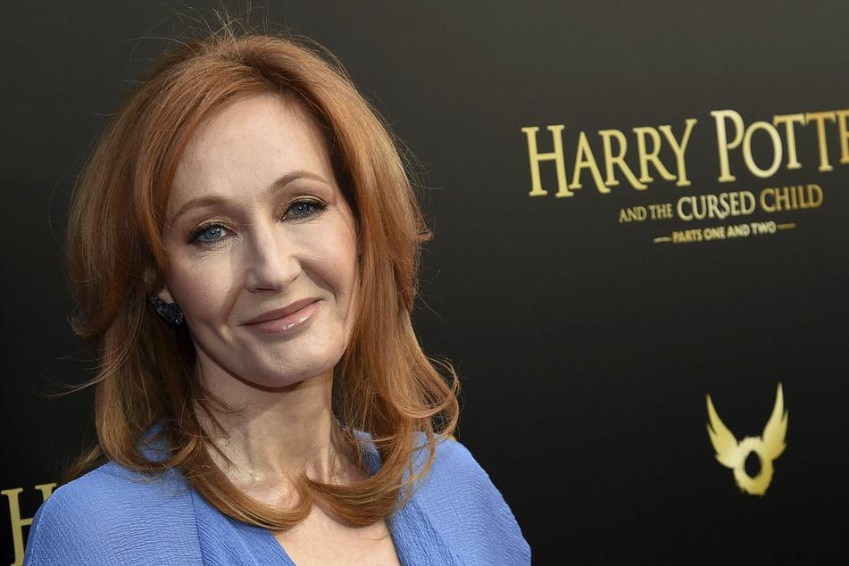 """Autorin J.K. Rowling erschuf die Welt von """"Harry Potter""""."""