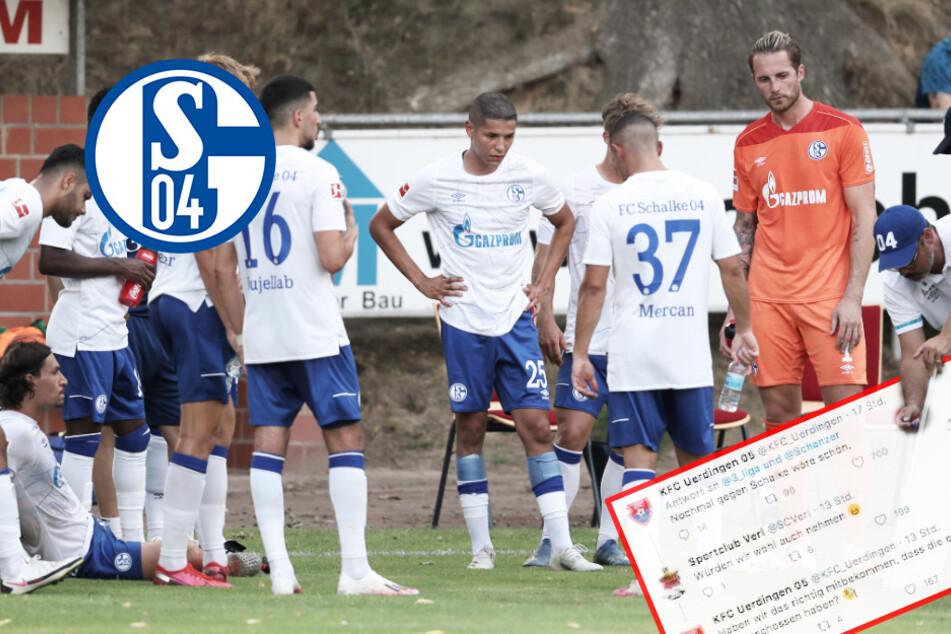 """S04 bitterböse von Drittligisten verhöhnt: """"Nochmal gegen Schalke wäre schön"""""""