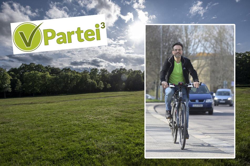 Chemnitz: Neue Veganer-Partei hat große Pläne: Chemnitzer Aktivist greift die Grünen an