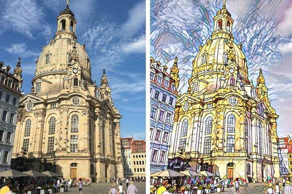Neue App verwandelt Fotos in Kunstwerke