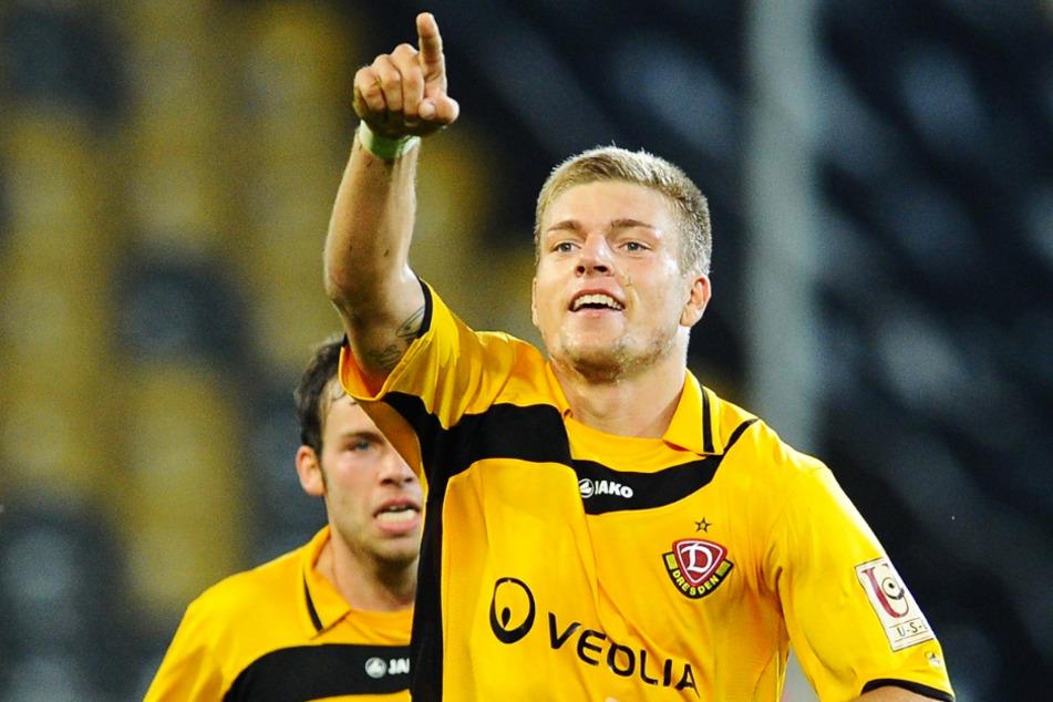 Alexander Esswein (30) hatte 2010/11 mit 17 Toren und acht Vorlagen in 33 Einsätzen großen Anteil an Dynamo Dresdens Aufstieg in die 2. Bundesliga.