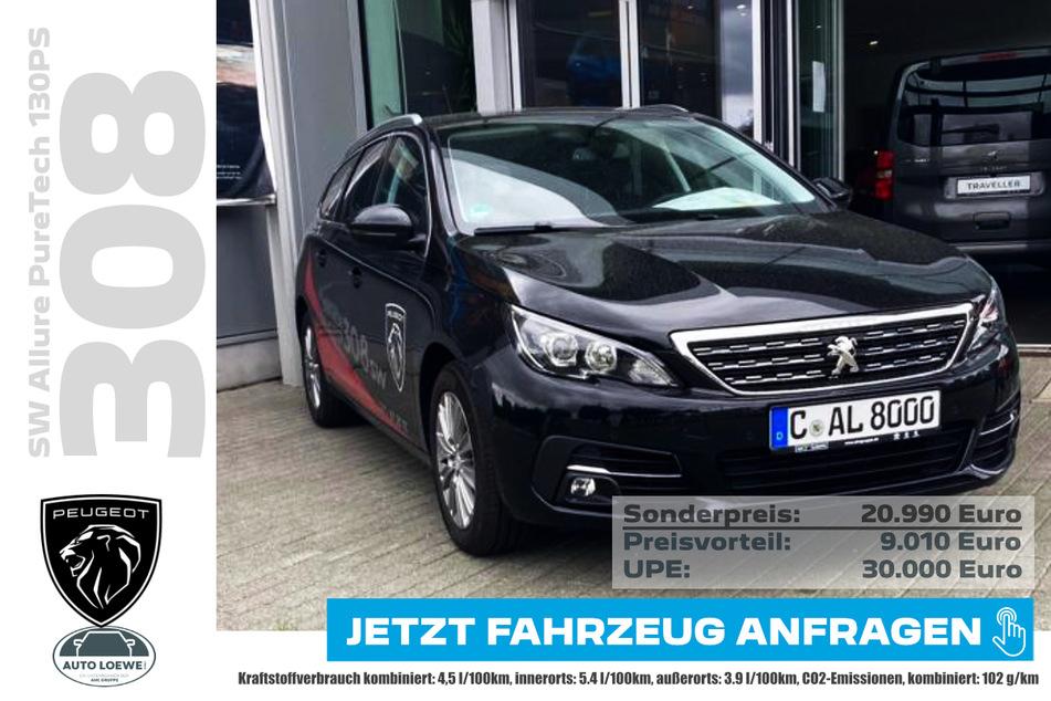 PEUGEOT 308SW Allure PureTech 130PS für 20.990 Euro
