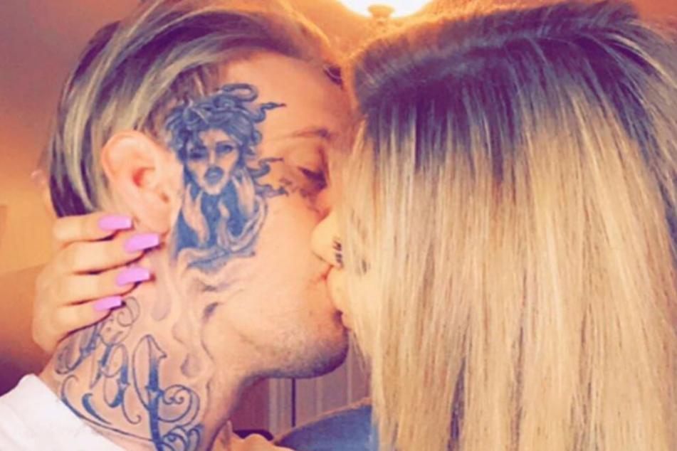 Aaron Carter (32) und Melanie Martin (27) haben schon drei Trennungen hinter sich.