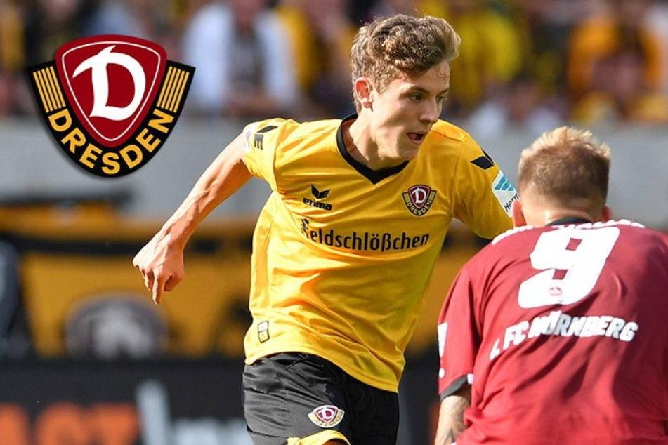 """Youngster Hauptmann ist Dynamos """"Schlange"""""""