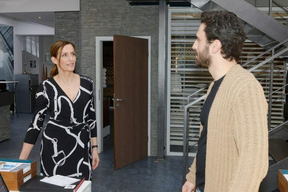 Katrin und Tobias kommen sich auf einer gemeinsamen Geschäftsreise wieder näher.
