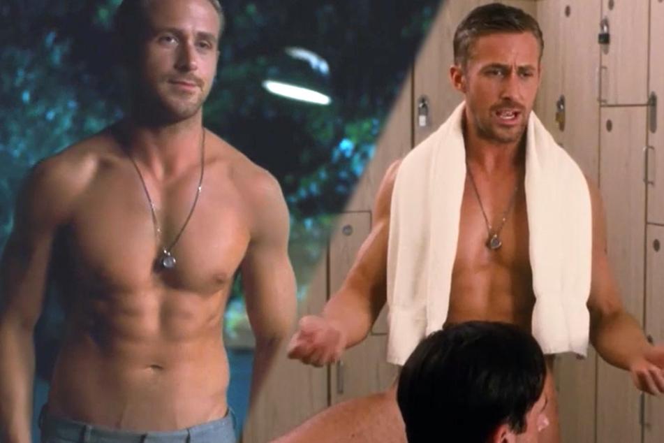 """Ryan sexy in """"Crazy, stupid love"""" (2011) - sein Waschbrettbauch bringt Neider auf die Palme."""