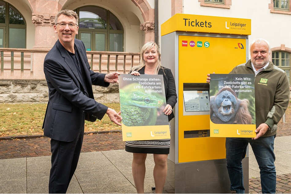 Schlange stehen am Zoo wird damit Geschichte: Eintrittskarten gibt's jetzt auch an LVB-Automaten