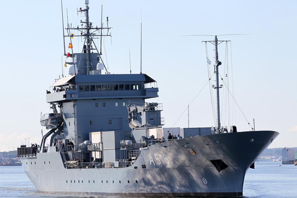 """Nach 102 Tagen auf See: Tender """"Donau"""" kehrt aus Nato-Einsatz zurück"""