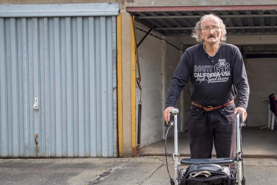 Wie herzlos! Wer hat Rentner Udo (66) den Rollstuhl geklaut?