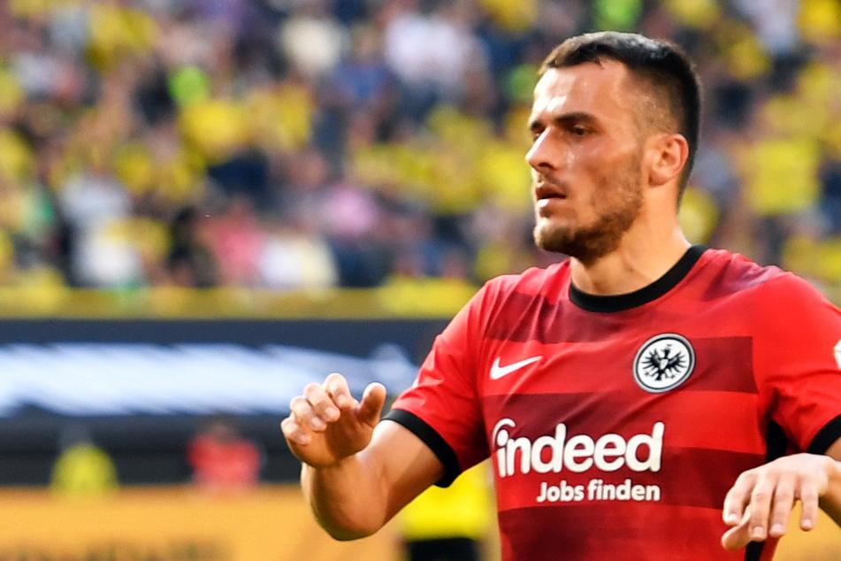Filip Kostic (28) von Eintracht Frankfurt ist wechselwillig: Lazio Rom soll für den Serben ein konkretes Angebot vorgelegt haben.