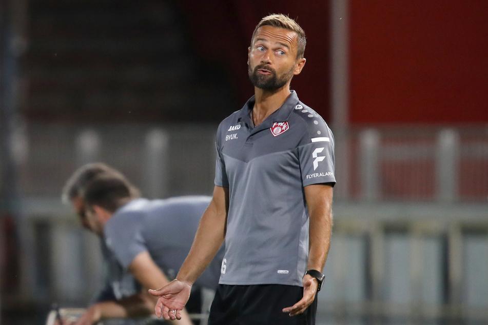 Das war's für Michael Schiele (42). Er ist ab sofort nicht mehr Trainer der Würzburger Kickers.
