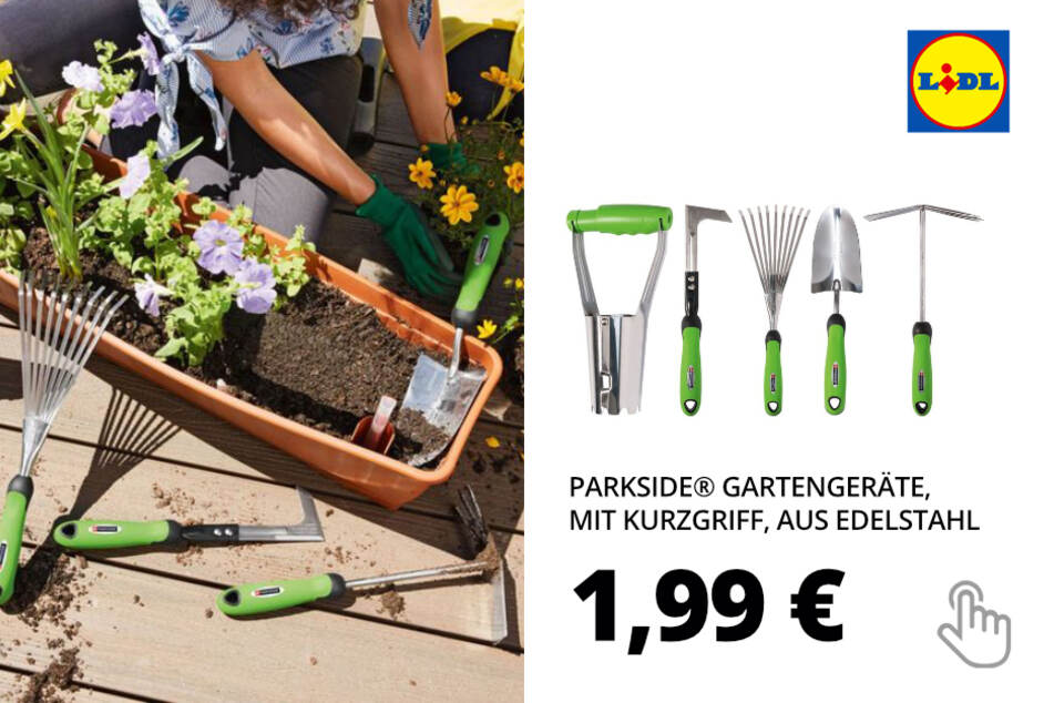 Gartengeräte, mit Kurzgriff