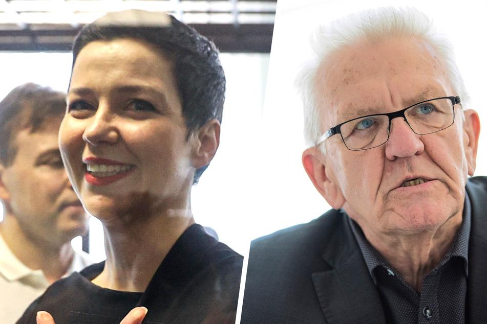 Winfried Kretschmannum (73, Grüne) fand auf Twitter deutliche Worte zum Urteil gegen Maria Kolesnikowa (39).
