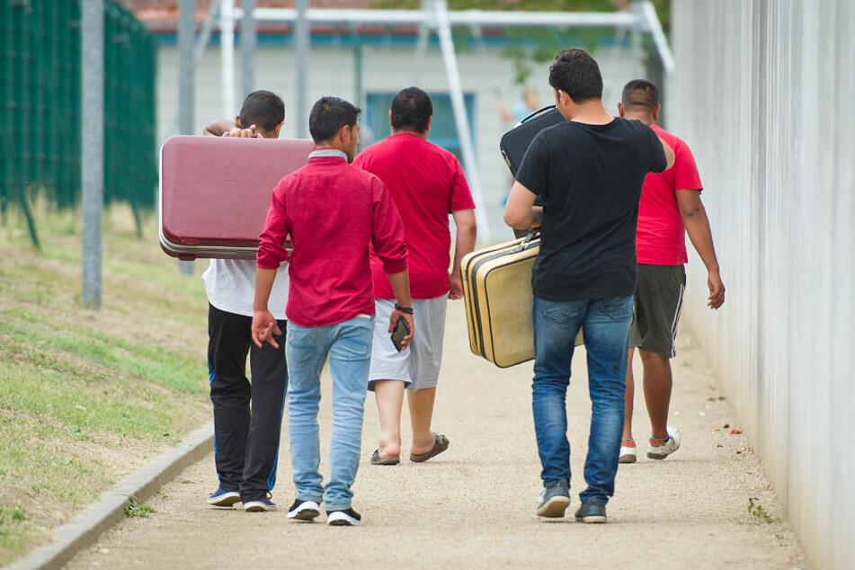 Die Betroffenen sind in einer Wohnung außerhalb der Unterkunft untergebracht worden. (Symbolbild)