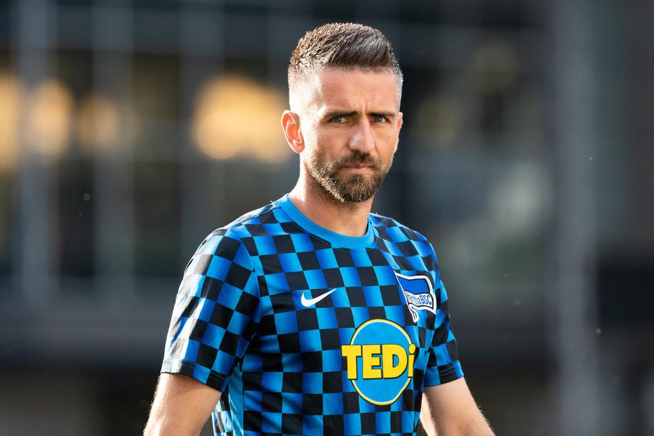 Herthas Vedad Ibisevic steht zur Wahl für den Berliner Fußballer des Jahres.