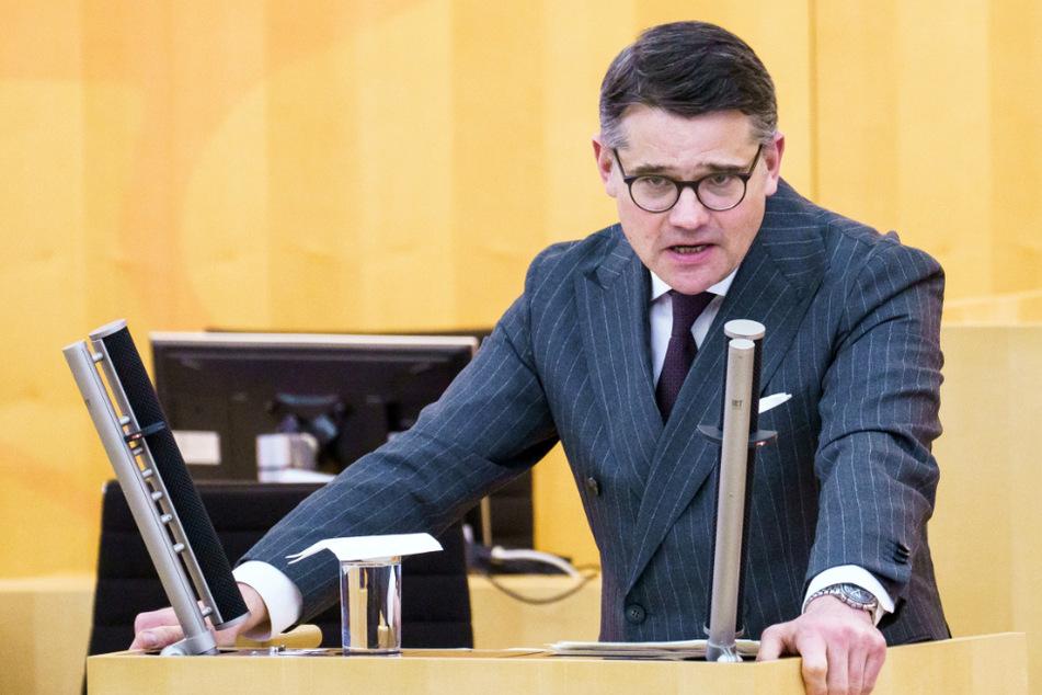 Zehn Jahre nach Mord-Anschlag: Landtagspräsident ruft zur Wachsamkeit auf