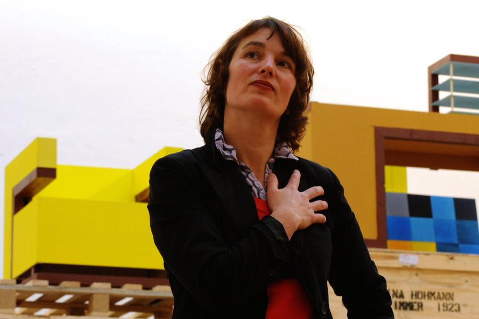"""Die Konzeptkünstlerin Katharina Hohmann entwickelte die Kreation """"Aerarium"""". (Archivbild)"""