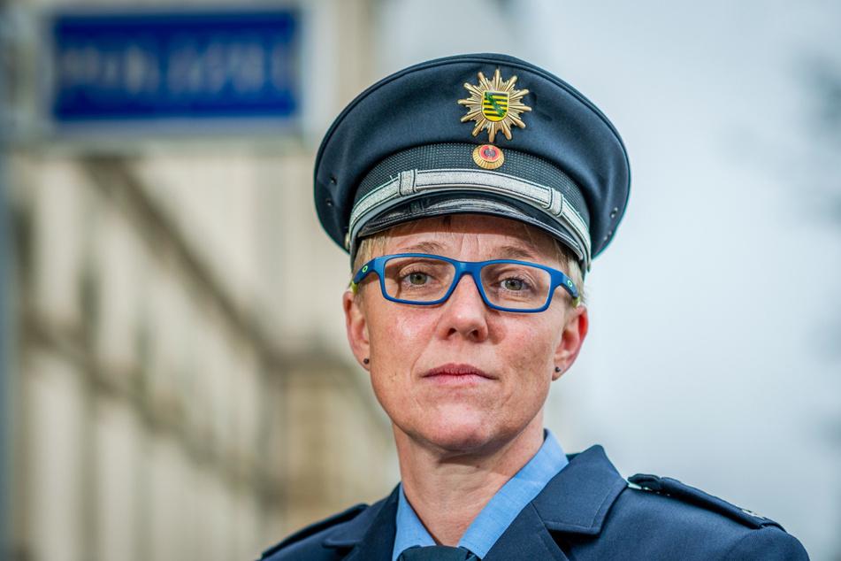 Jana Ulbricht ist Sprecherin der Polizeidirektion Chemnitz.
