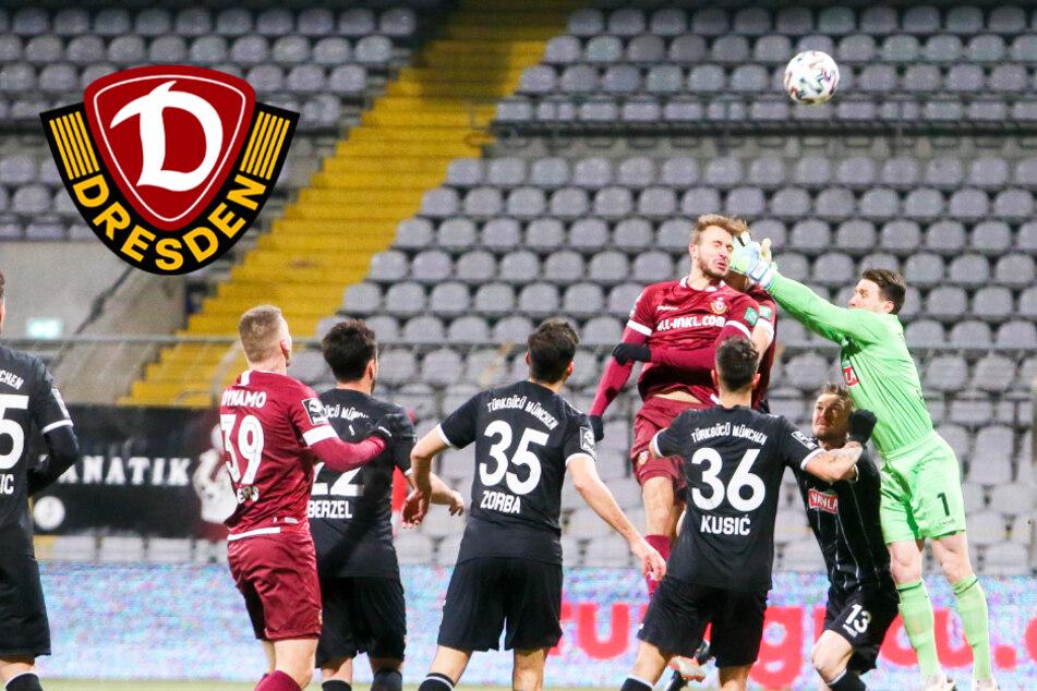 Dynamo: Pech und fehlende Abgezocktheit am Beispiel von Türkgücü-Keeper Vollath