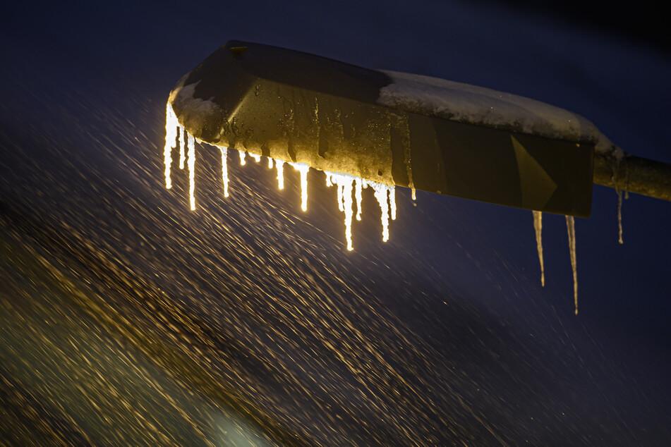 Ein Bild, das zeigt: Die Wetterlage im Freistaat ist aktuell ungemütlich.